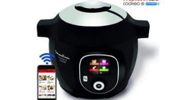 Test Cookeo Bluetooth noir 150 recettes 6L YY2942FB