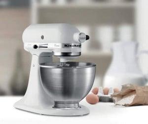 Avis Robot pâtissier mixeur KitchenAid 5K45SSEWH Série Classic