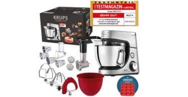 Test Robot de cuisine Krups Premium 17 pièces