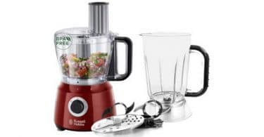 Test Robot multifonction rouge Russell Hobbs 24730-56 Desire