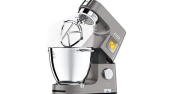 Test Robot pâtissier Kenwood Titanium Chef Pâtissier XL KWL90.034SI