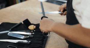 Différents types de couteaux de cuisine
